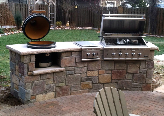 Have A Built In Permanent Structure For Their Outdoor Cooking Needs