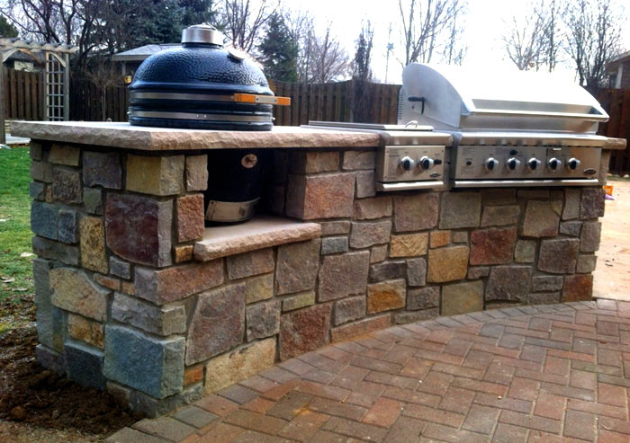 Outdoor Kitchen Island For Webber