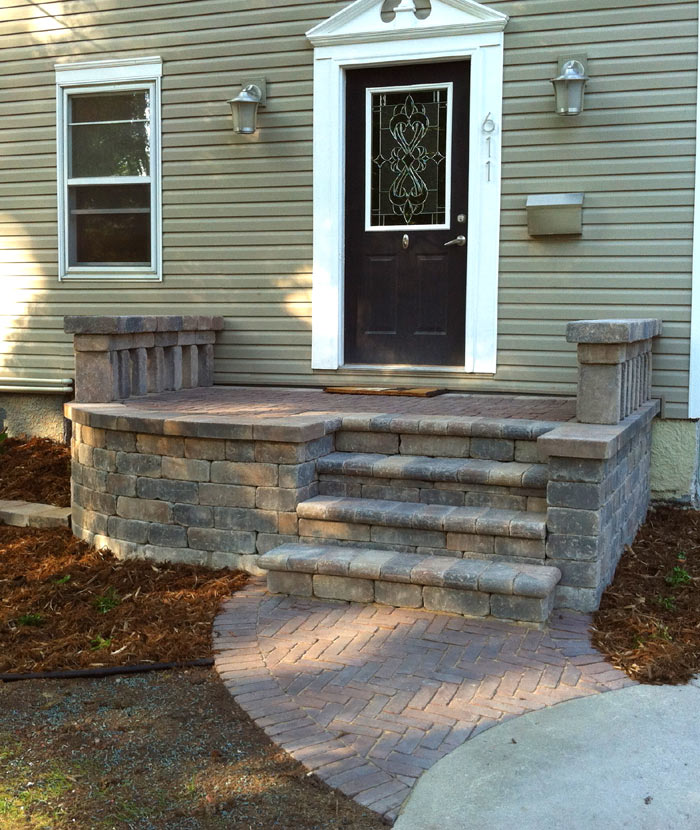 Wooden front porch step designs joy studio design for Steps to designing a house