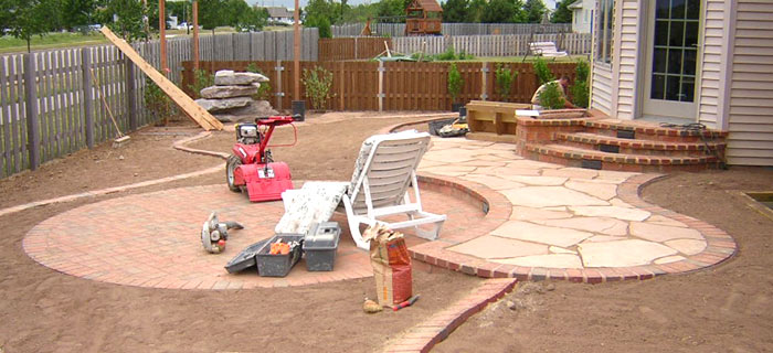 neenah landscape nearing completion
