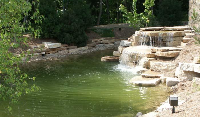 waterfall finished