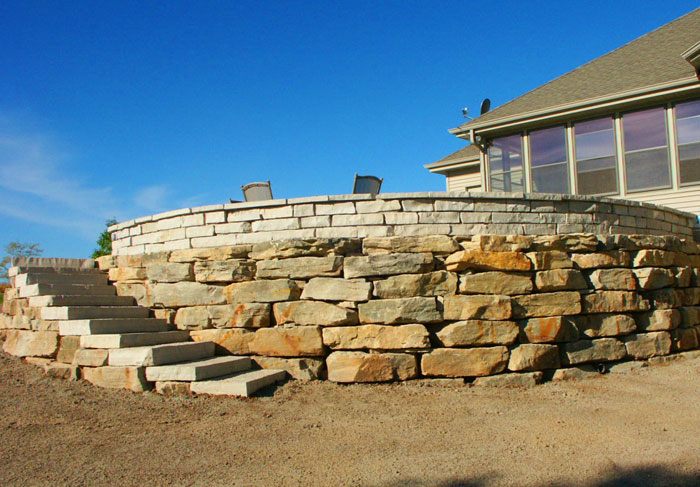 Greenville boulders and patio for Landscaping rocks greenville sc