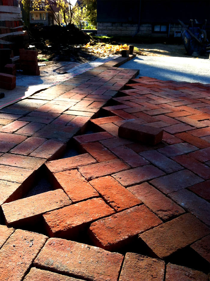 Beautiful Sand Molded Paver Texture