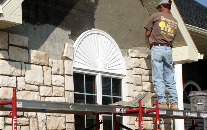 We offer masonry services in the Fox Valley!