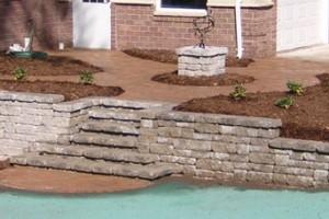 retaining walls in neenah, wi