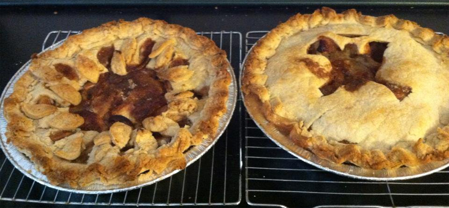 Apple Pies made from trees in your landscape
