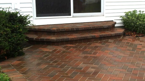 Masonry Step and Paver Repair