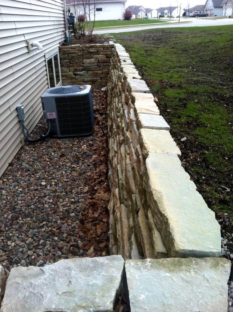 Retaining Wall Repair Rebuild